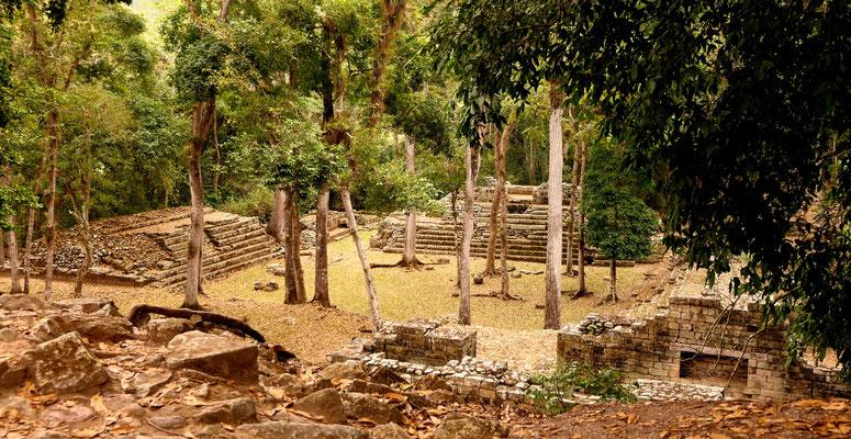 Maya ruïnes van Copán