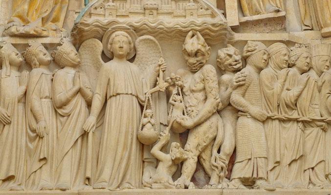 Detail in de Notre Dame