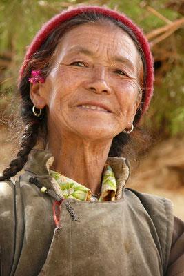 Vrouw in Yangtang