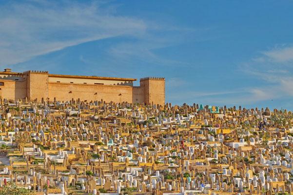 De begraafplaats van Rabat