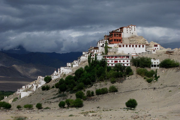 Thiksey Gompa (gompa=klooster)