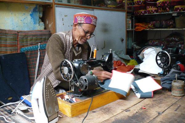 Hoedjesmaker in Manali