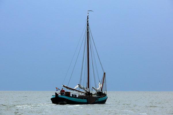 Oude glorie op de Waddenzee