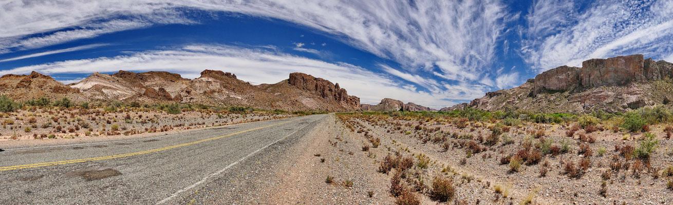 De Patagonische steppe