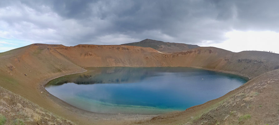Krafla vulkaanmeer