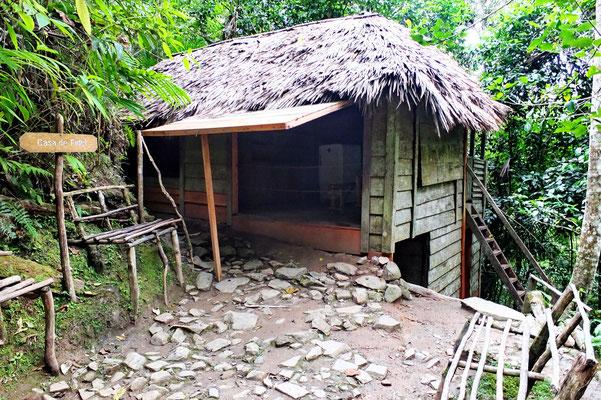 Het huis van Fidel in La Commandancia