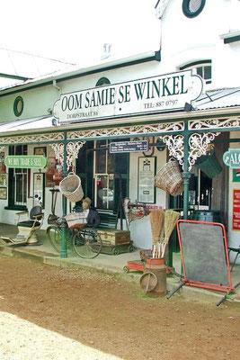 Oom Samie se winkel in Stellenbosch
