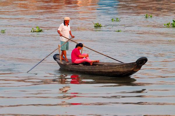 Chua Doc in de Mekong delta
