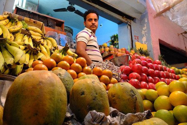 De markt in Bikaner
