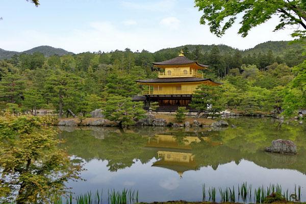 Het gouden paviljoen in Kyoto