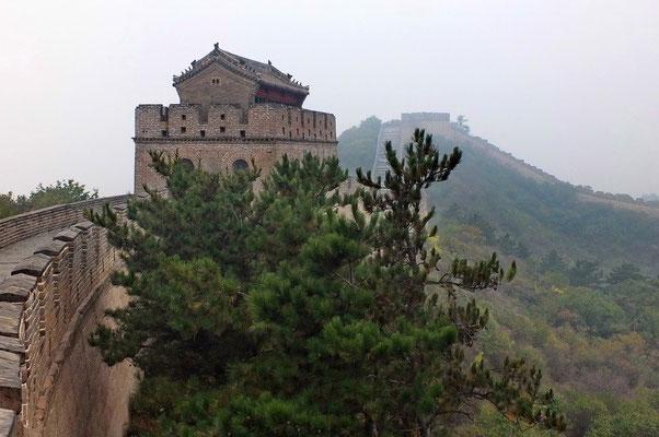De muur bij Badaling