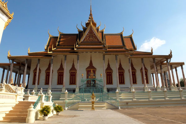 Het koninklijk paleis in Phnom Pen