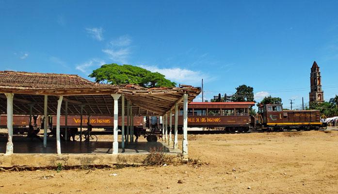 De trein naar Manaca Iznaga