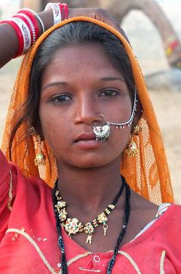 Zigeunerin in Pushkar