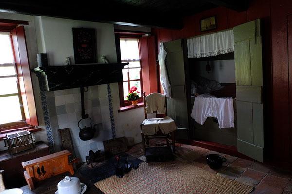 Het interieur van het kleinste huisje van Rottum (en misschien van Nederland)