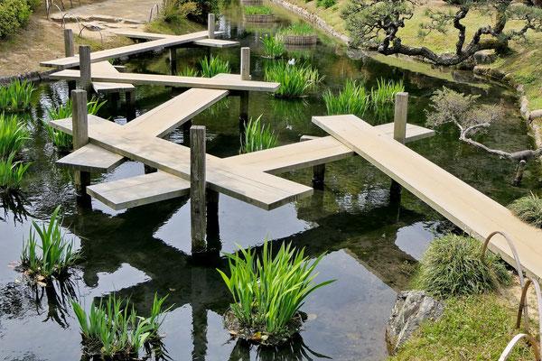 Zen brug (je moet je hoofd er wel bij houden als je hier over loopt.