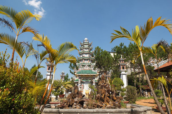 Linh Son pagode in Da Lat