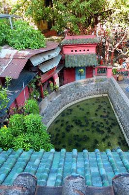 Schildpaddenvijver bij de Jade Keizer pagode