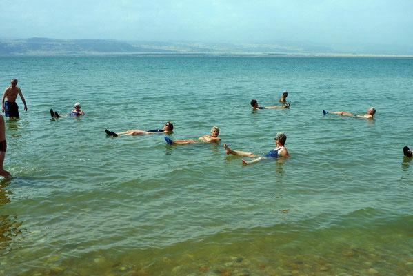 De Dode zee met Israël aan de overkant