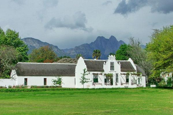 Koloniaal pand in Stellenbosch
