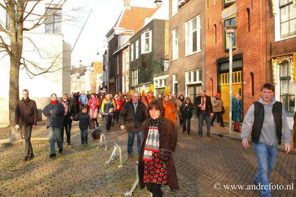 Deze plek was in Groningen de Lage der Aa.