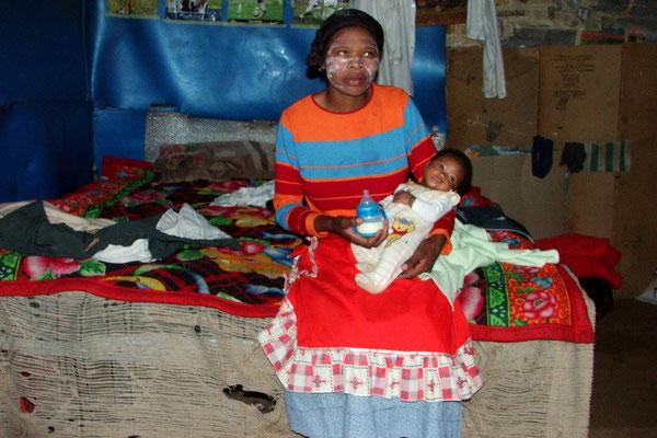 Moeder in Soweto