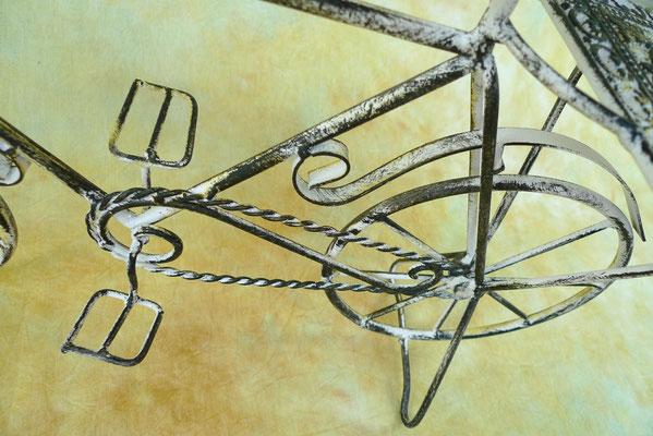 Deko fahrrad dekoration m bel lampen kunst garten - Dekoration fahrrad ...