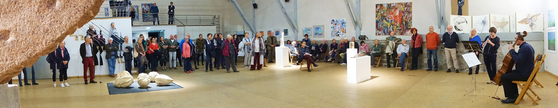 Hans Kumpf: Panorama der HKV Jahresausstellung