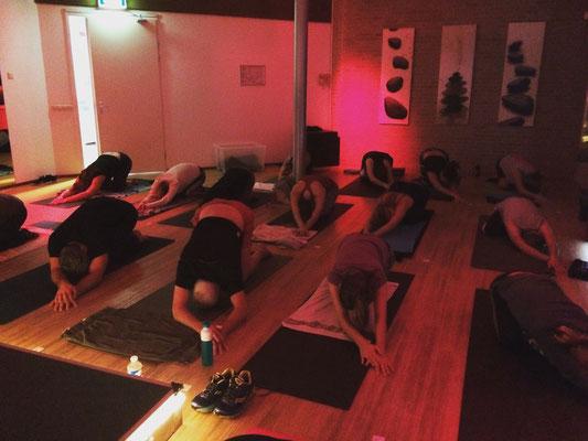 Forrest Yoga Intro Workshop InTension Den Haag, 2016
