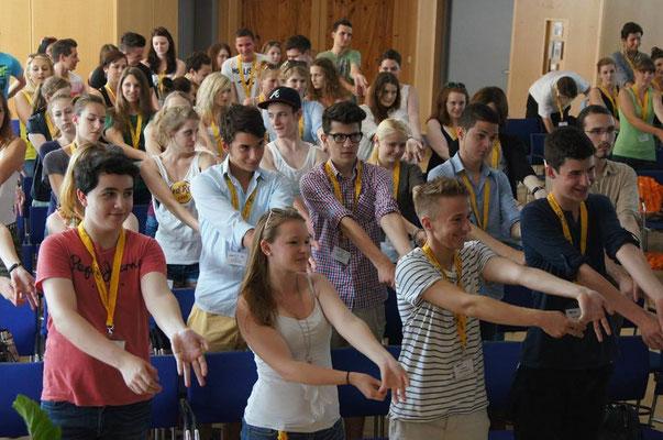 Europa Medien Demokratie Kongress 2013- Wrist Streches