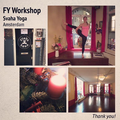 Forrest Yoga Intro Workshop Svaha Yoga Amsterdam, 2016