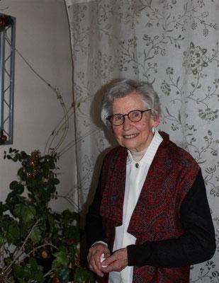 Marie-Louise STAEDELIN 80 ans le 8 janvier