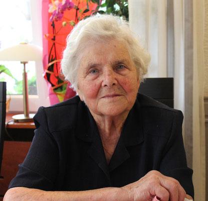 Anne ZINK, 90 ans le 1 septembre 2016