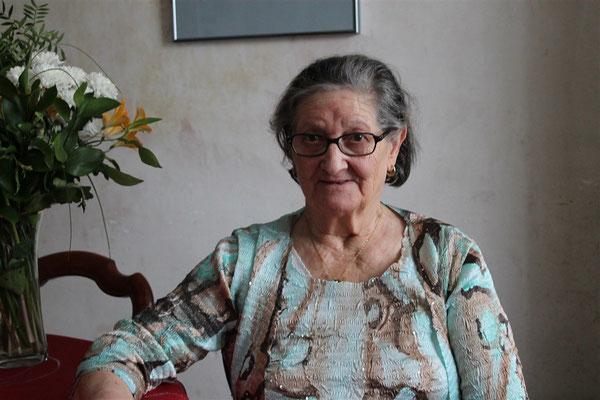 Isabella Del Ben, 80 ans le 24 février 2016