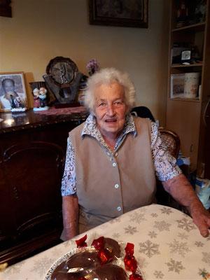 Aline LIEBY 95 ans le 22 août