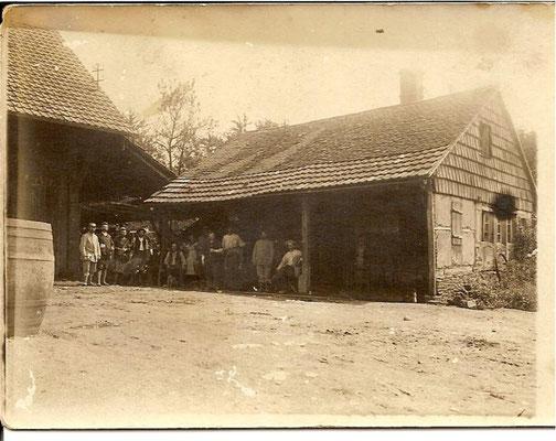 1913 Maison BOHRER forge