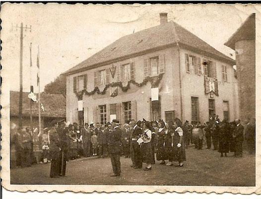 1947 Visite du Sous-Préfet