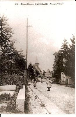 1900 Actuelle rue de Delle