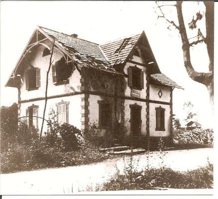 1918 Maison Gessier Aloyse endommagée