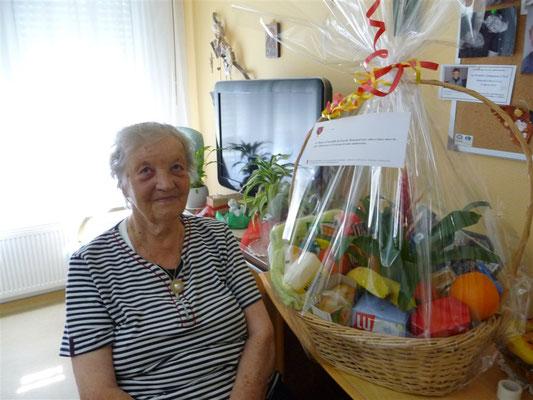 Yvonne LUPFER 90 ans le 28 février