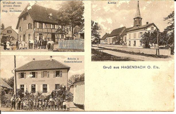 1912 Vues du village