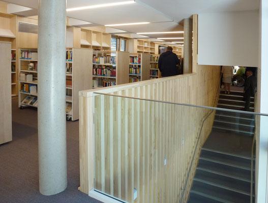 Bibliothek Marktheidenfeld Schreiner Objekteinrichtung