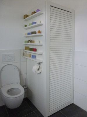 Badezimmer Schreiner Vekleidung Waschmaschine Trockner