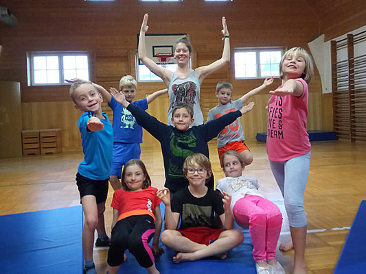 Unsere Yoga-Gruppe