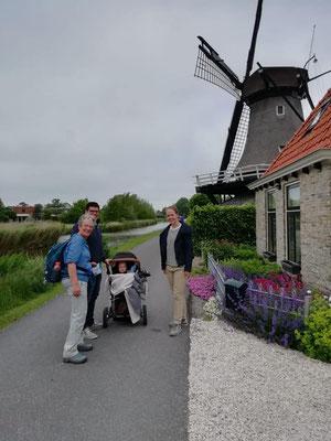 Op bezoek bij Mevrouw de Molenaar in Witmarsum