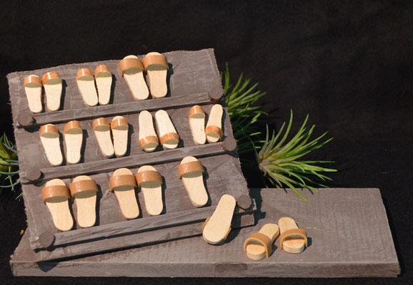 Slippers / schoenen kraam