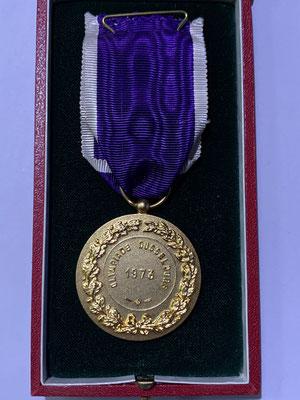 Olympia-Medaille aus Düsseldorf 1973