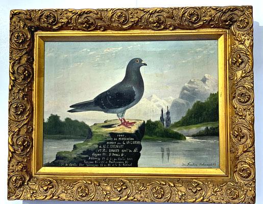 Anstelle von Urkunden wurden die Sieger zu Beginn des 20. Jahrhunderts kostspielig gemalt.
