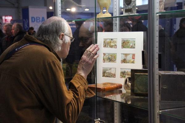 Die Exponate, die die weite Reise nach China überstanden hatten, wurden auch in Dortmund bestaunt