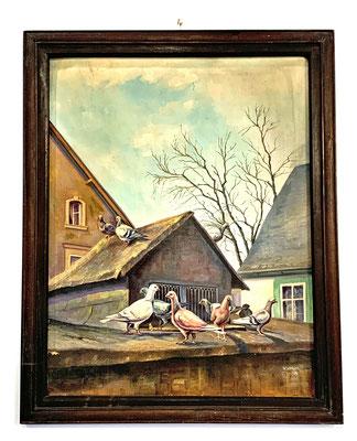 """""""Tauben auf dem Dach"""" aus dem Jahr 1939"""
